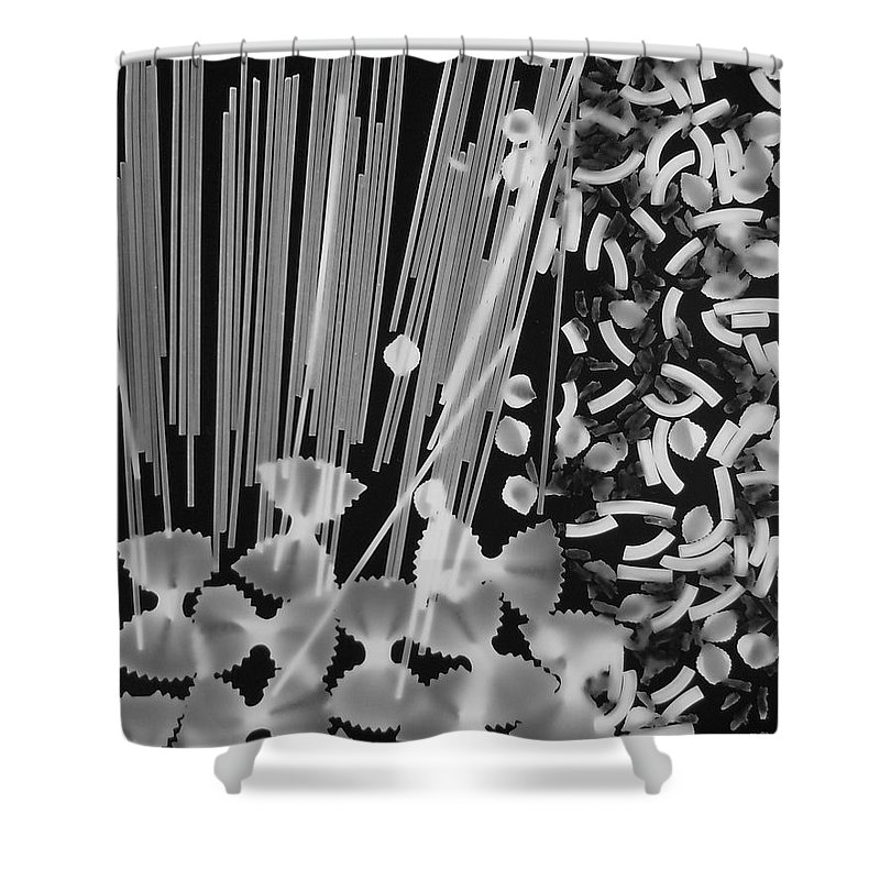 Pasta Shower Curtain featuring the photograph Oodles Of Noodels #4 by Robert ONeil