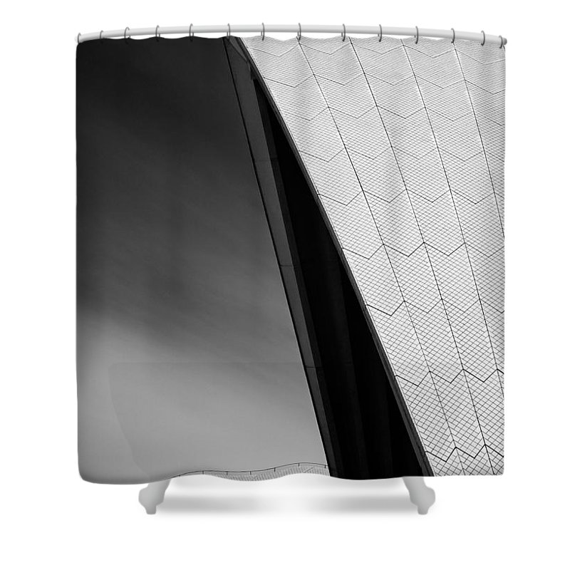 Sydney Opera House Shower Curtain featuring the photograph Opera House by Dave Bowman
