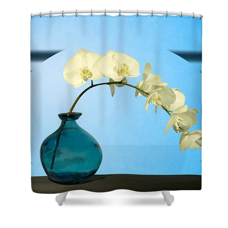 Desire Shower Curtain featuring the photograph Orcidea by Mark Ashkenazi