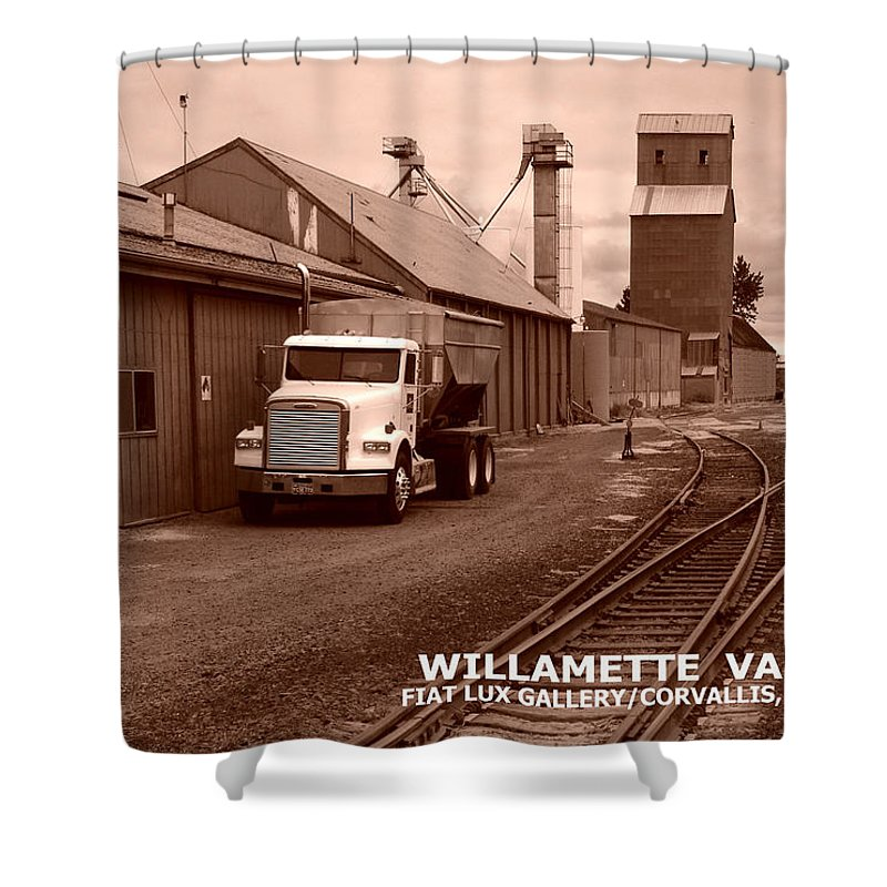 Willamette Valley Shower Curtain featuring the photograph Oregon's Willamette Valley by Michael Moore