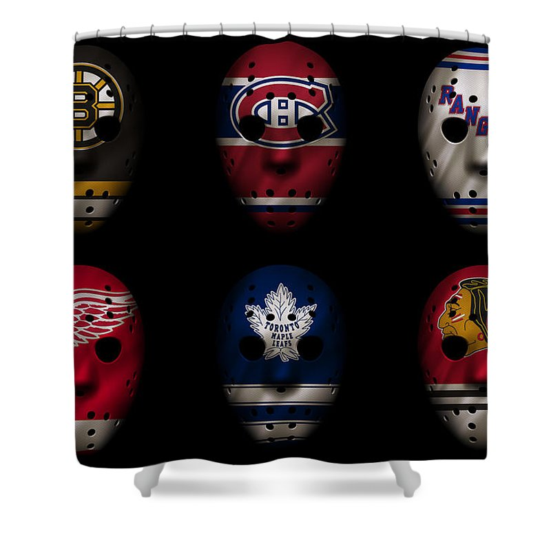 Nhl Players Shower Curtains