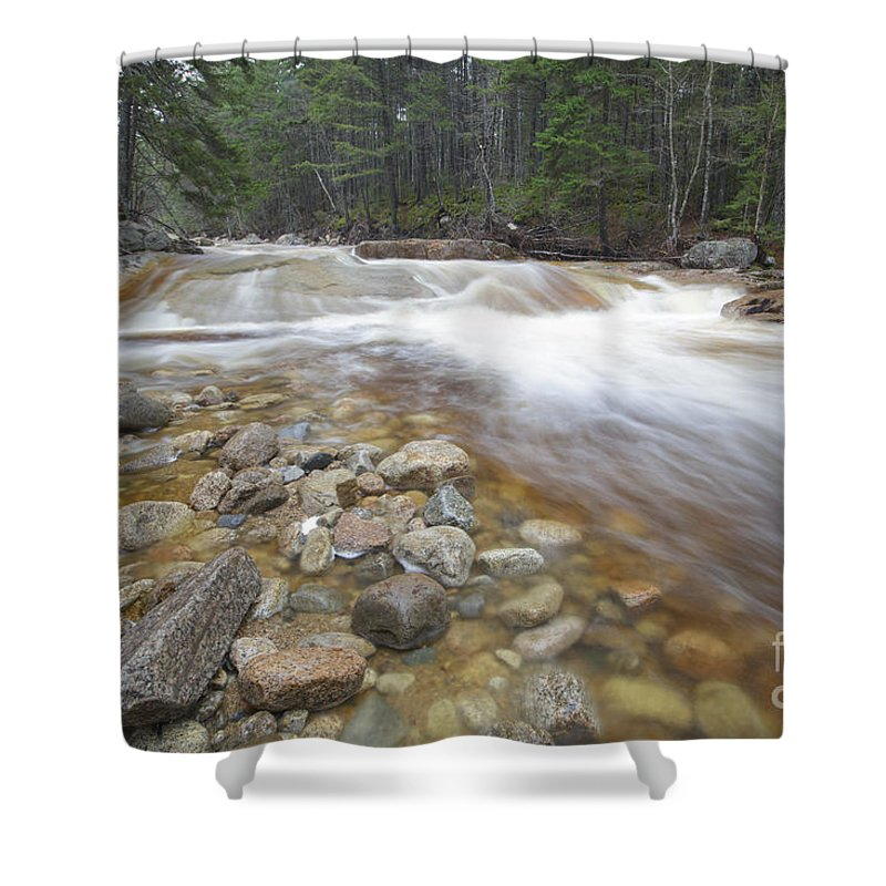 White Mountain National Forest Shower Curtain featuring the photograph Otter Rocks - White Mountains New Hampshire Usa by Erin Paul Donovan
