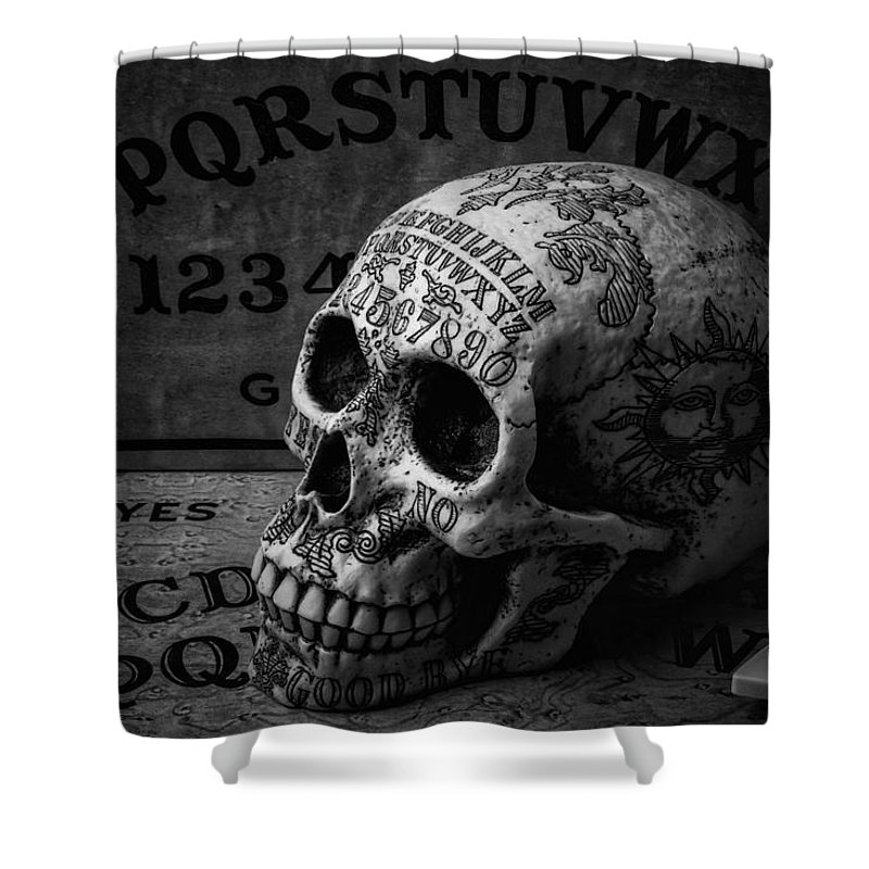 Ouija Boards And Skull Shower Curtain For Sale By Garry Gay