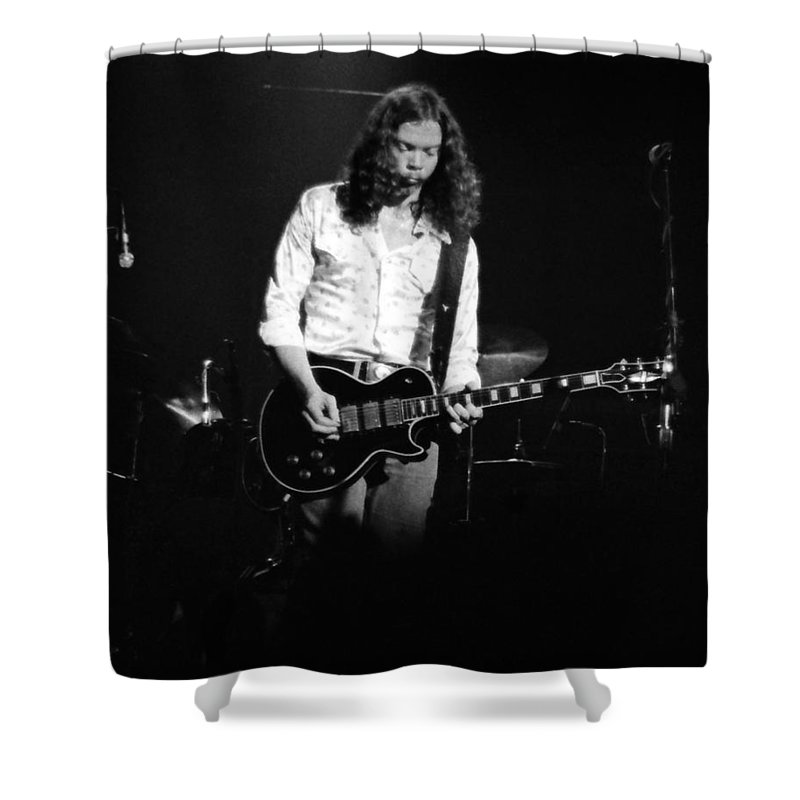 Outlaws Shower Curtain featuring the photograph Outlaws #12 by Ben Upham