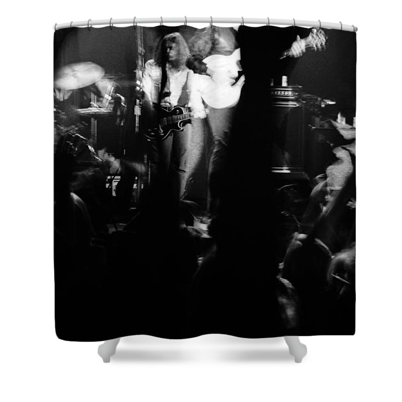 Outlaws Shower Curtain featuring the photograph Outlaws #13 by Ben Upham