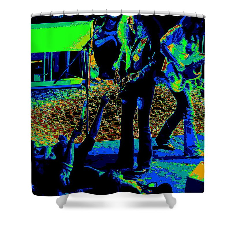 Outlaws Shower Curtain featuring the photograph Outlaws #16 Art Cosmic by Ben Upham