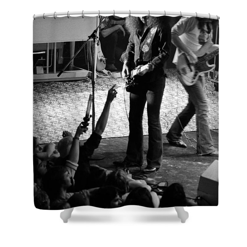 Outlaws Shower Curtain featuring the photograph Outlaws #16 by Ben Upham