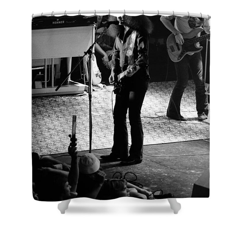Outlaws Shower Curtain featuring the photograph Outlaws #17 by Ben Upham