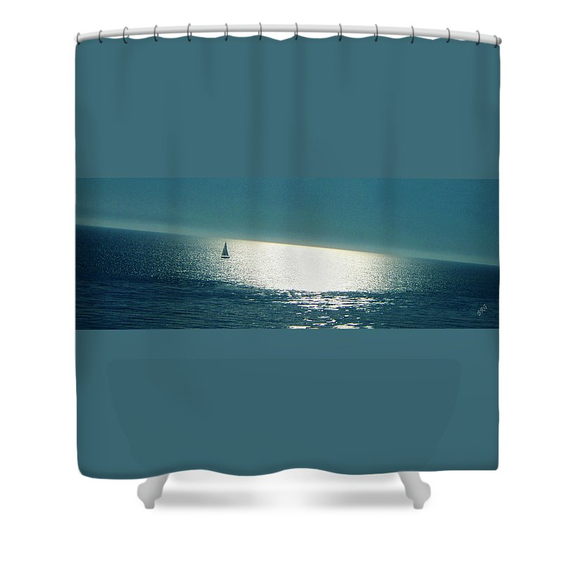 Waterscape Shower Curtain featuring the photograph Pacific by Ben and Raisa Gertsberg