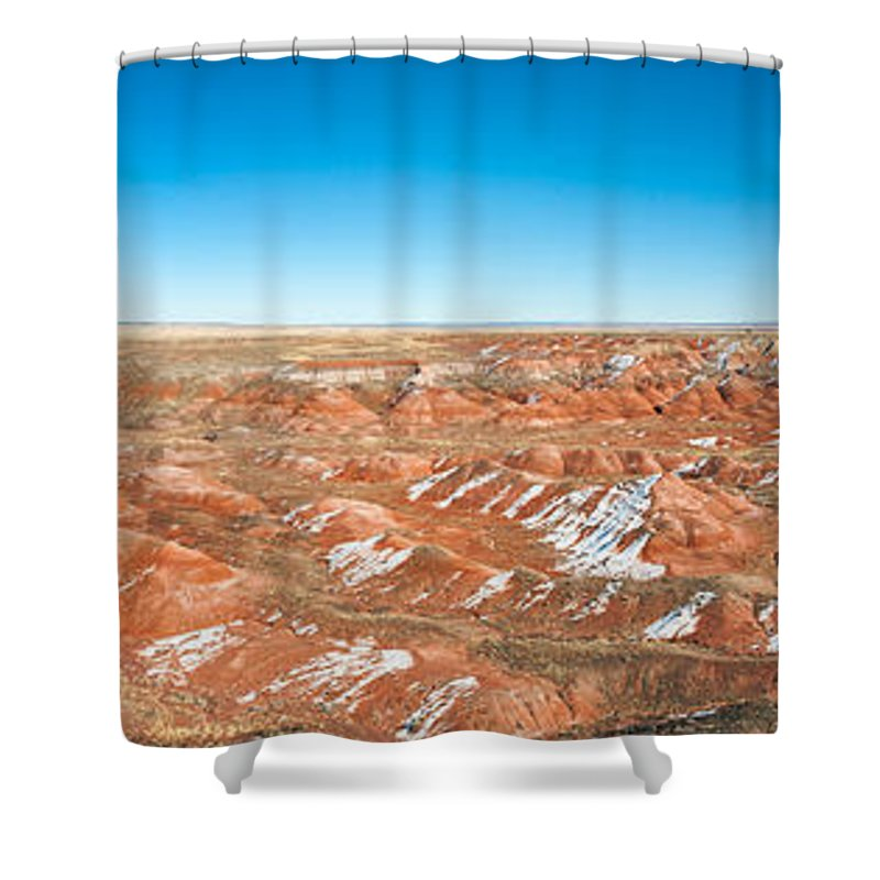 Petrified Forest Shower Curtains