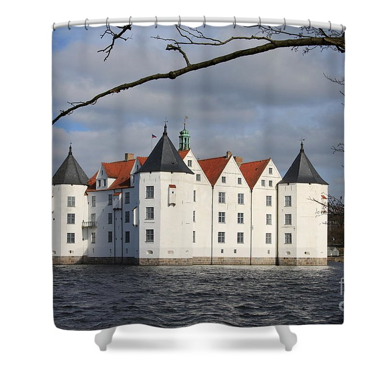 Palace Shower Curtain featuring the photograph Palace Gluecksburg - Germany by Christiane Schulze Art And Photography