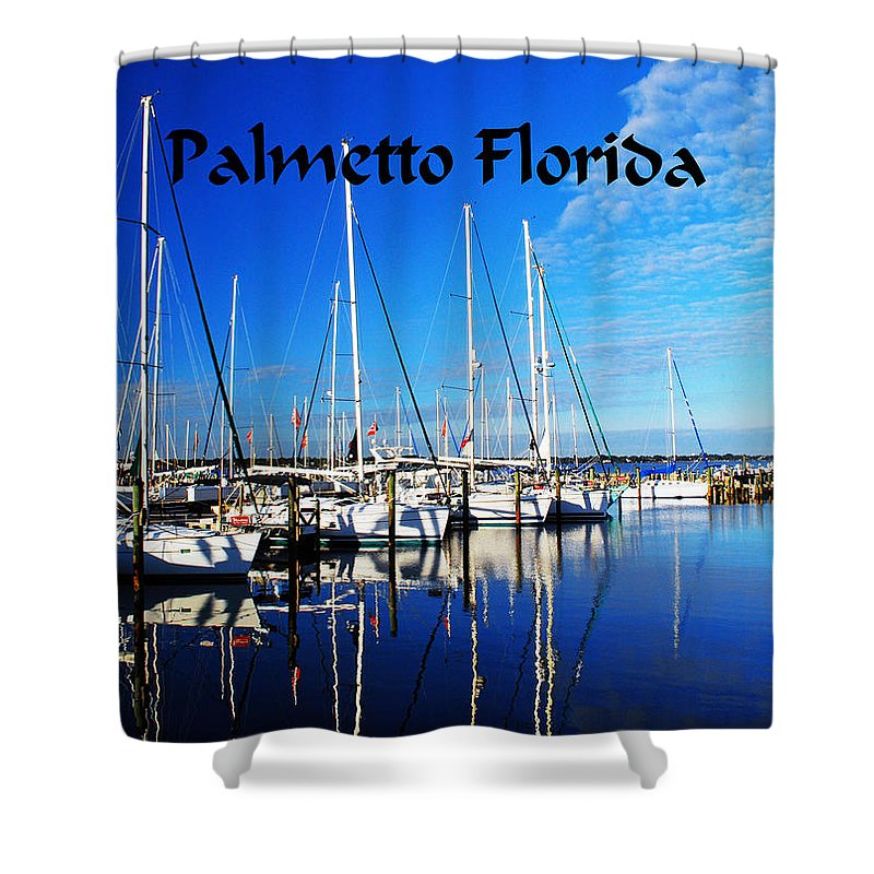 Florida Shower Curtain featuring the photograph Palmetto Florida by Gary Wonning