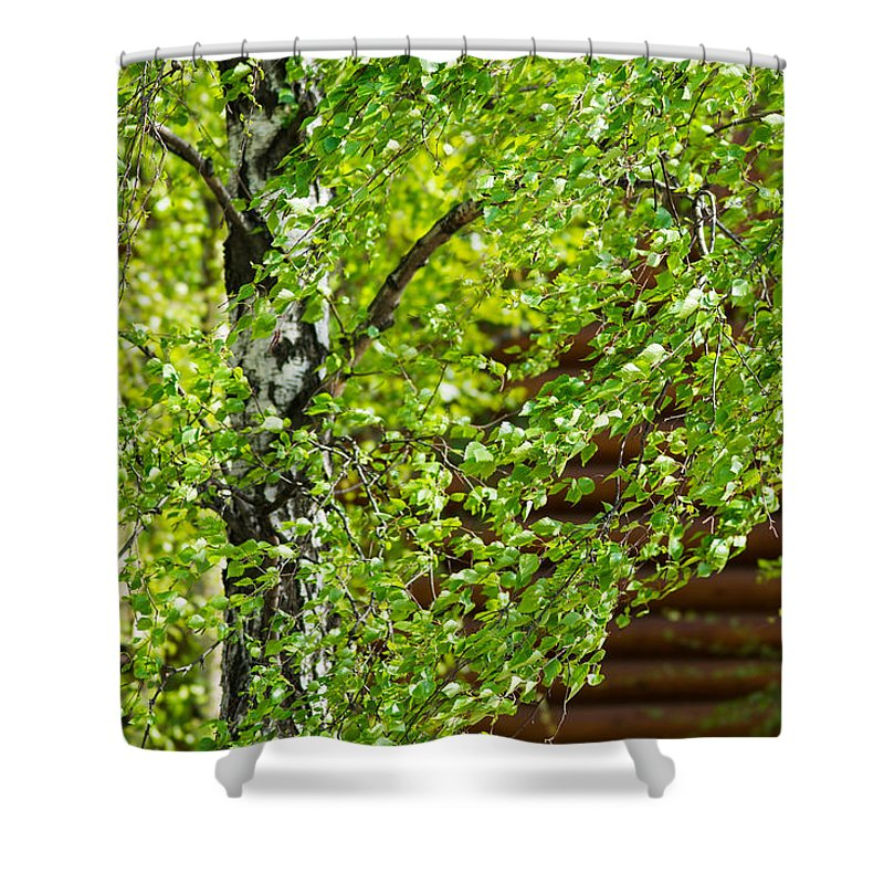 Abstract Shower Curtain featuring the photograph Palpitation - Featured 3 by Alexander Senin