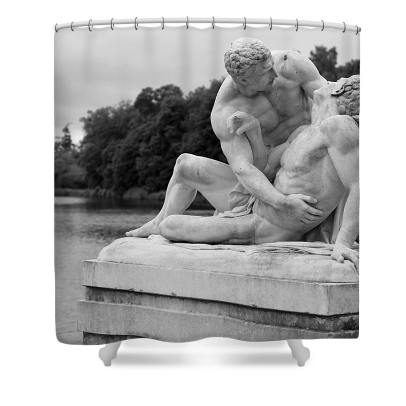 Medieval Fortress Shower Curtain featuring the photograph Passion In Rambouillet by Maj Seda