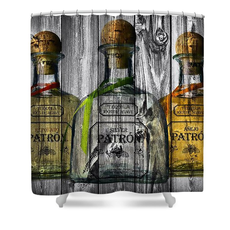 Patron Barn Door Shower Curtain Featuring The Photograph By Dan Sproul