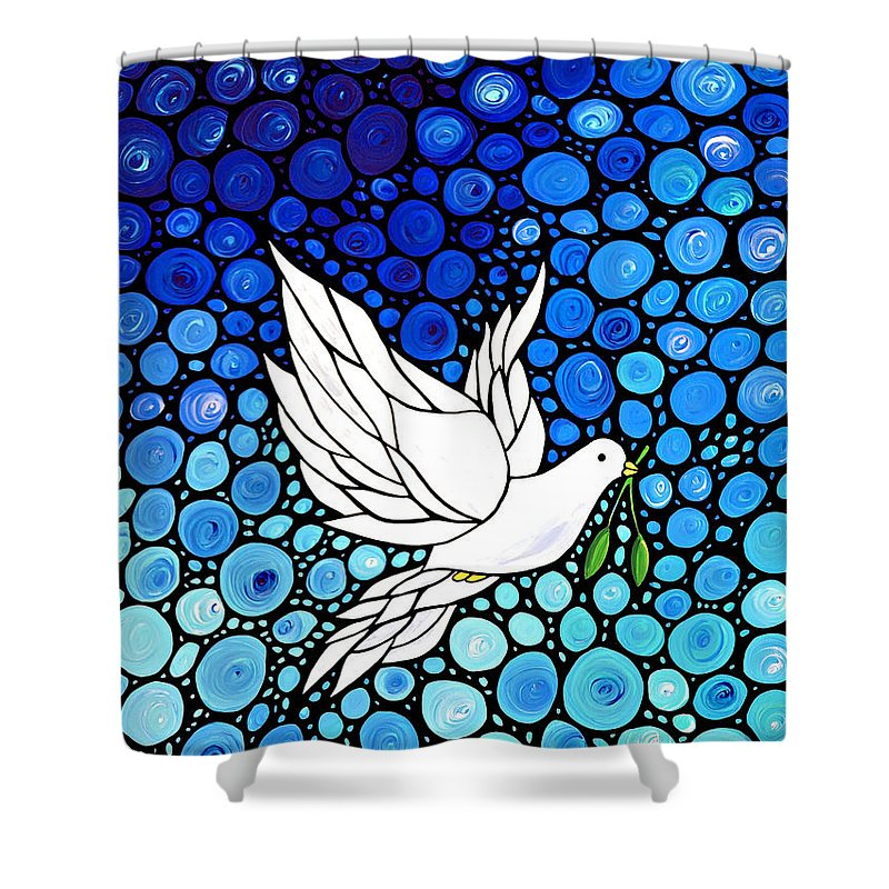 Dove Shower Curtains