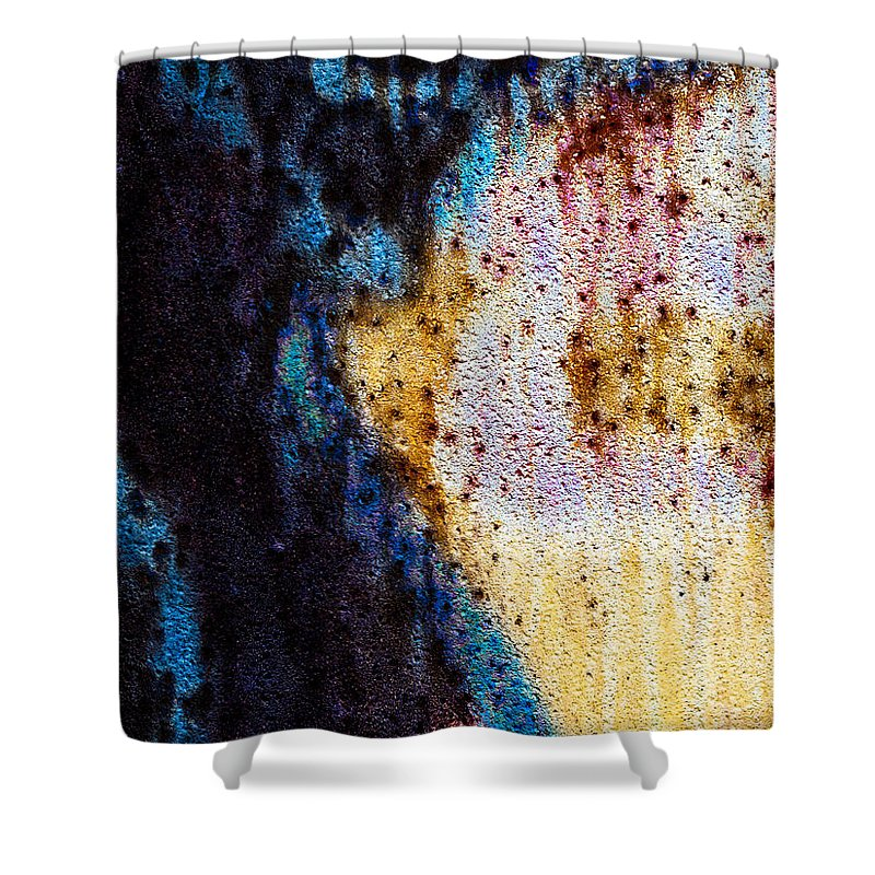 Abstract Shower Curtain featuring the photograph Peaceful Memories by Bob Orsillo