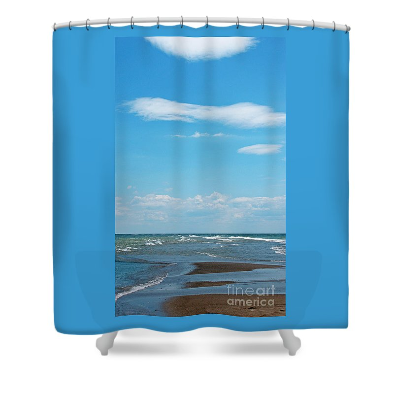 Canada Shower Curtain featuring the photograph Pelee by Ann Horn