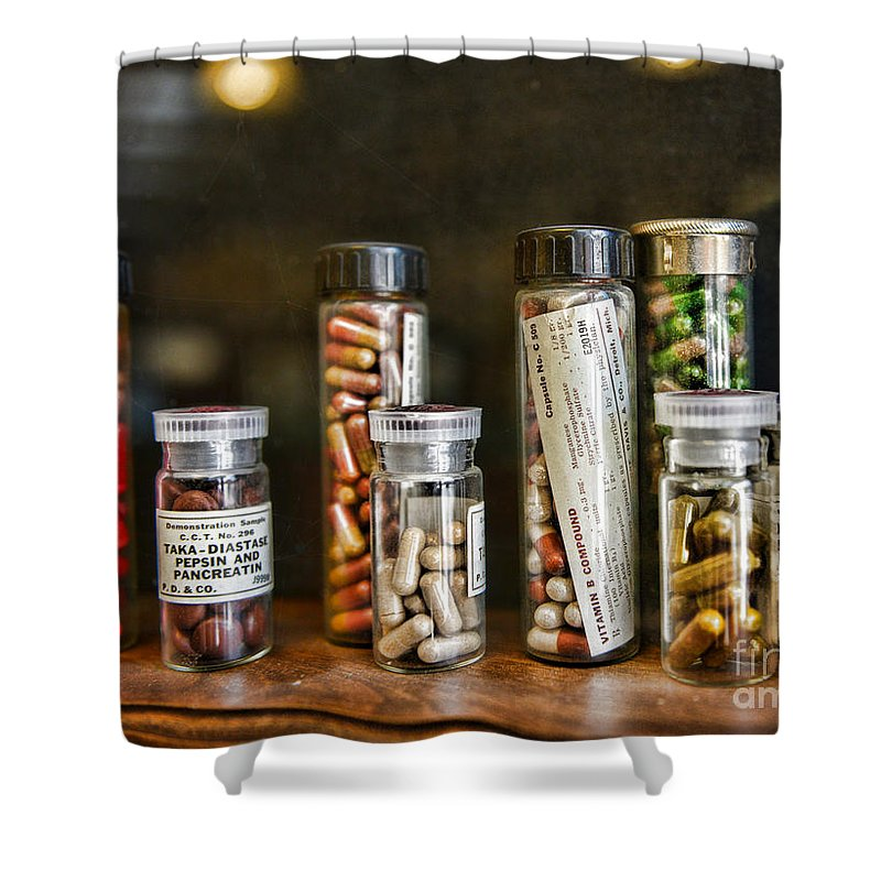 Paul Ward Shower Curtain featuring the photograph Pharmacist For All That Ails You by Paul Ward