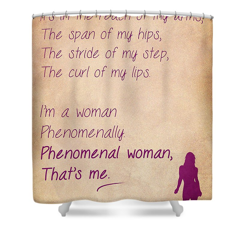 Phenomenal Woman Quotes 60 Shower Curtain For Sale By Nishanth Gopinathan Beauteous Phenomenal Woman Quotes
