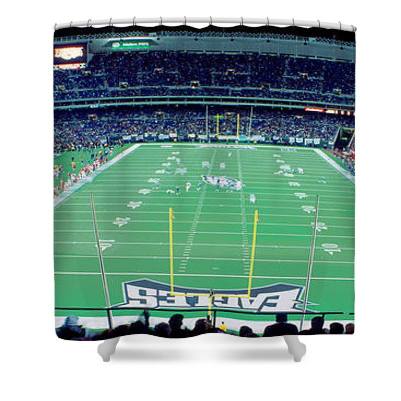 Veterans Stadium Shower Curtains | Fine Art America