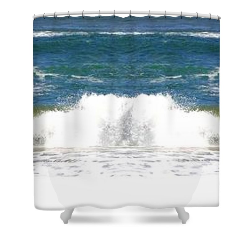 Photo Synthesis 7 Shower Curtain featuring the digital art Photo Synthesis 7 by Will Borden