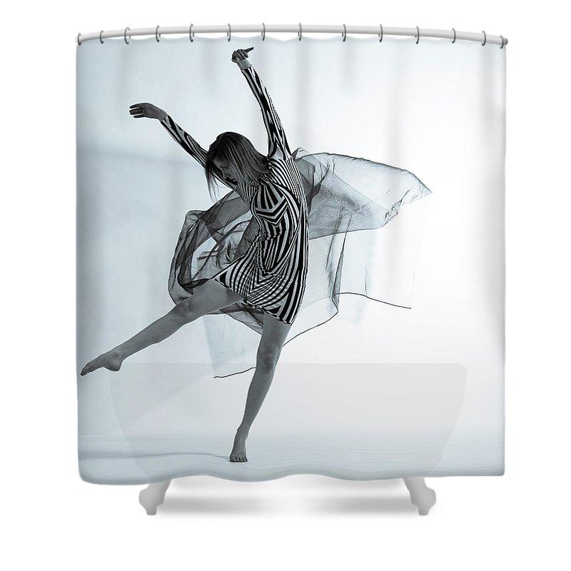 Ballet Dancer Shower Curtain featuring the photograph Photofusion Shoot Jan 2013 by Maya De Almeida Araujo