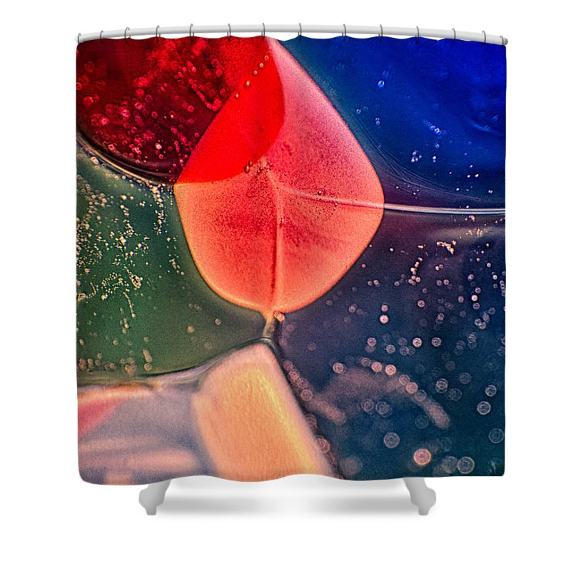 Glass Shower Curtain featuring the photograph Pinkie by Omaste Witkowski