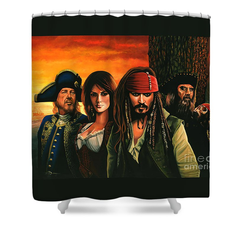 Orlando Bloom Shower Curtains