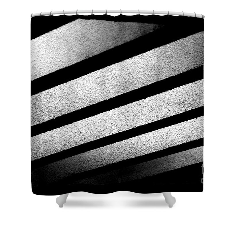 Play Of Light Shower Curtain featuring the photograph Play Of Light by Dattaram Gawade