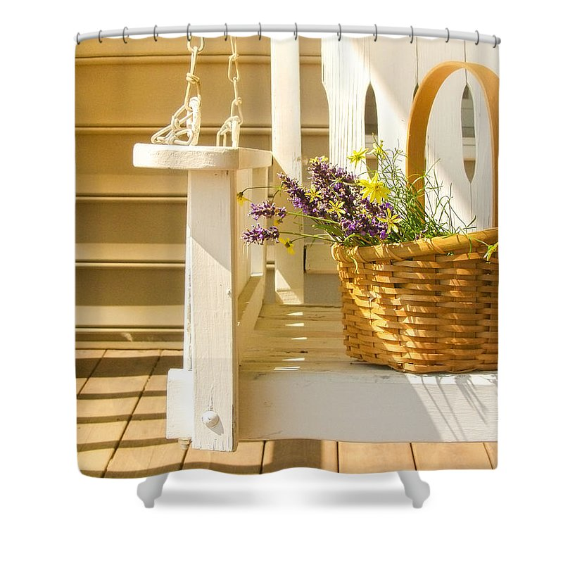 Front Porch Shower Curtains