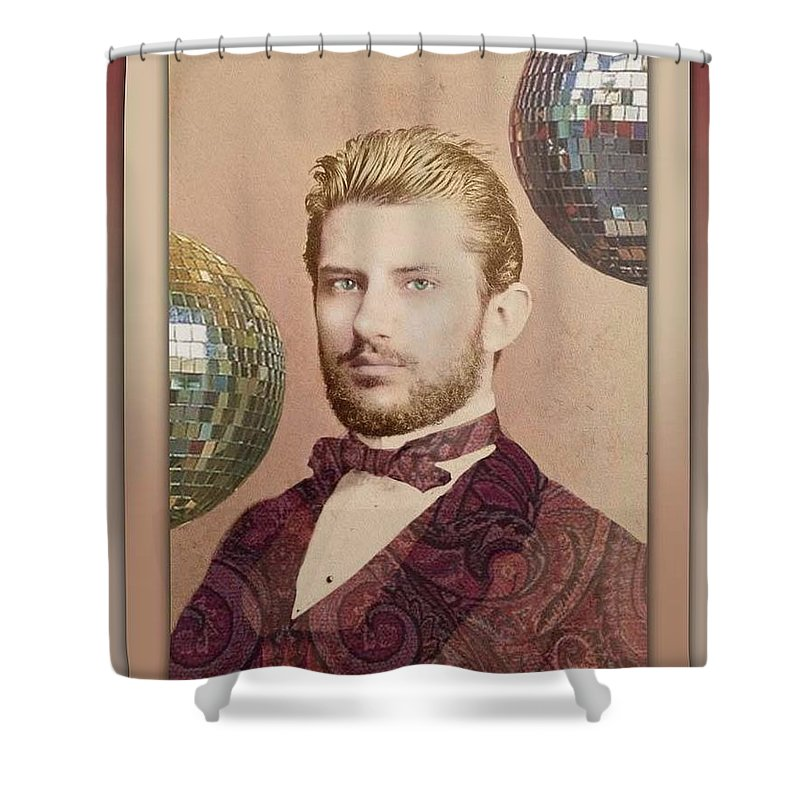Vintage Shower Curtain featuring the photograph Quietude by Richard Laeton