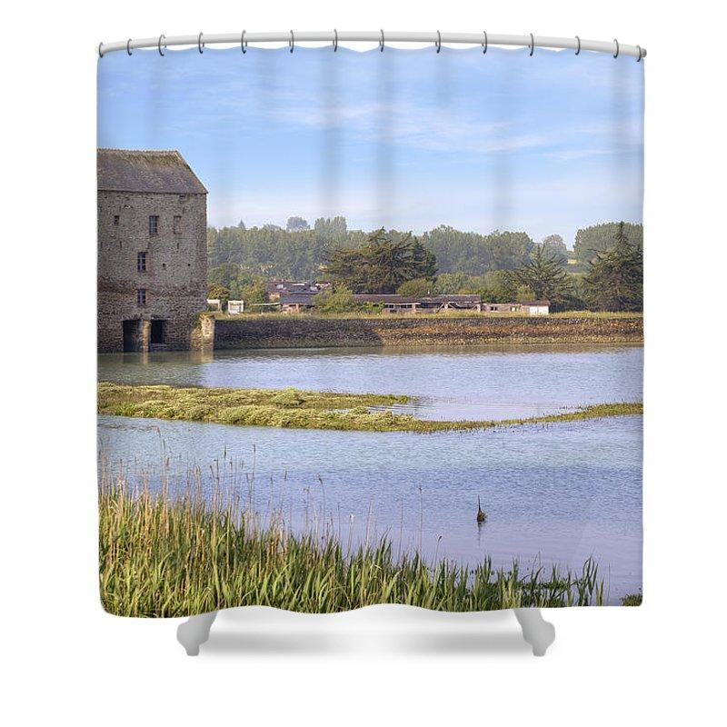 Saint-jouan-des-guerets Shower Curtain featuring the photograph Rance - Bretagne by Joana Kruse