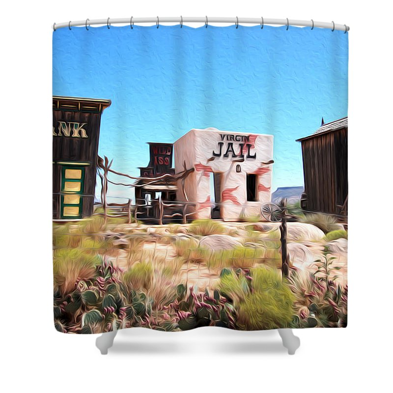 Utah Shower Curtain featuring the photograph Random View In Utah by Tracy Winter