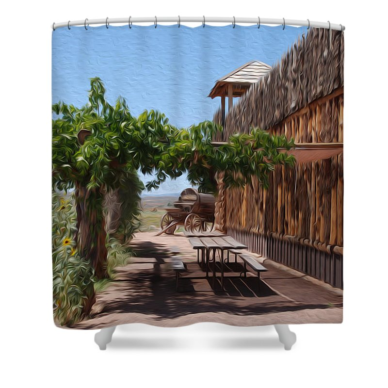Utah Shower Curtain featuring the photograph Randon View In Utah 1 by Tracy Winter