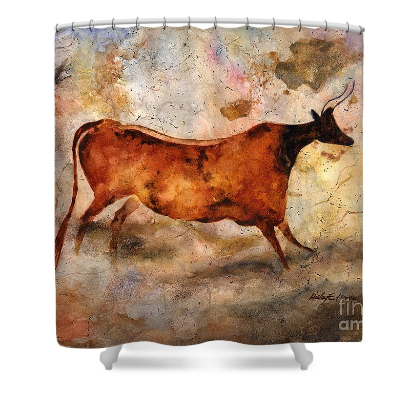 Red Cow Shower Curtain For Sale By Hailey E Herrera