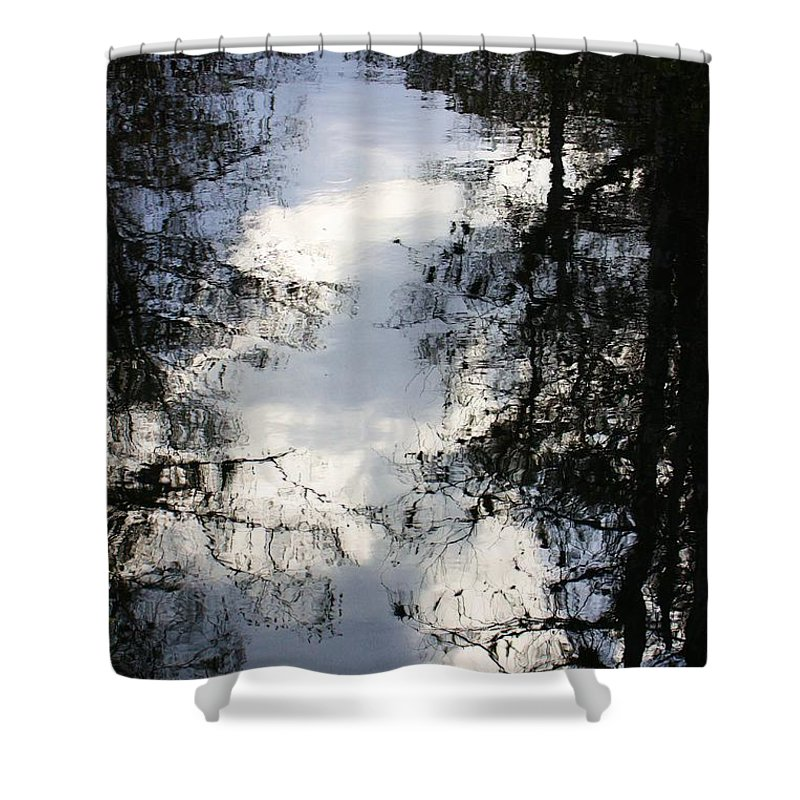 Sweet Shower Curtain featuring the photograph Reflection On Sweet Water Strand by Chuck Hicks