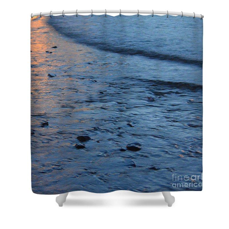 Photography By Paul Davenport Shower Curtain featuring the photograph Reflections Iv by Paul Davenport