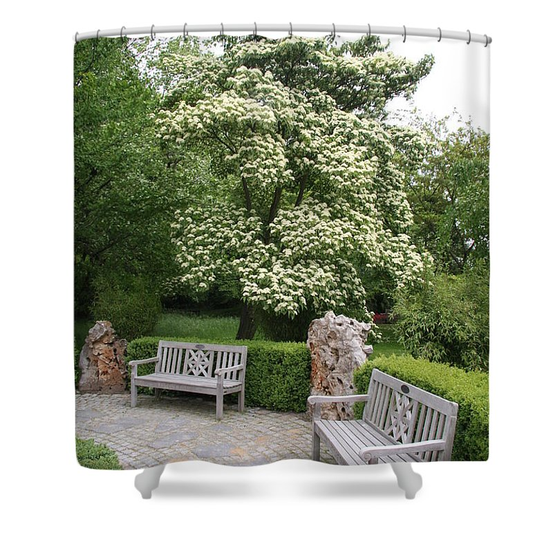 Park Shower Curtain featuring the photograph Relax In The Park by Christiane Schulze Art And Photography
