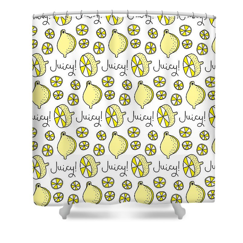 Susan Claire Shower Curtain Featuring The Photograph Repeat Prtin
