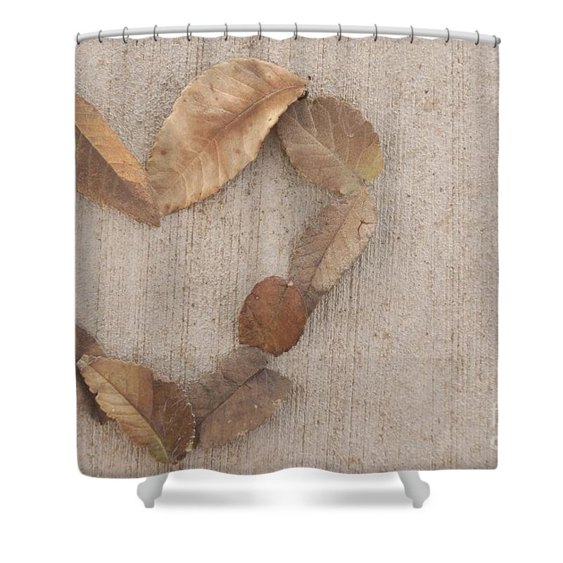 Love Shower Curtain featuring the photograph Retro Love by Kerri Mortenson