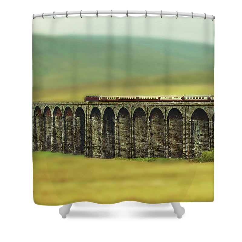 Arch Shower Curtain featuring the photograph Ribblehead by Jon Parkes Photography
