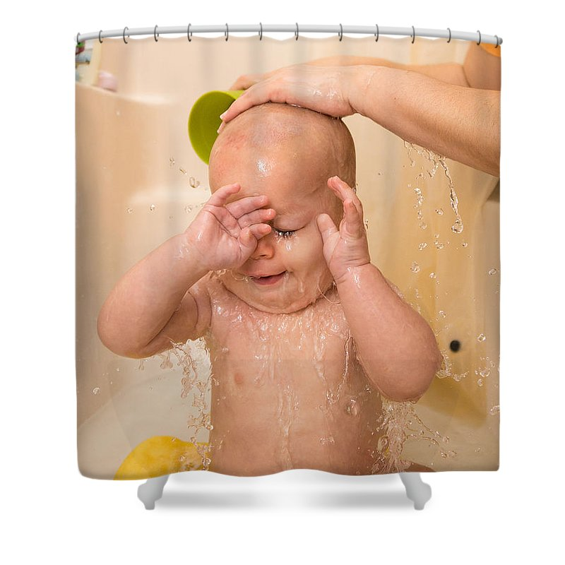Bill Pevlor Shower Curtain featuring the photograph Rinse And Repeat by Bill Pevlor