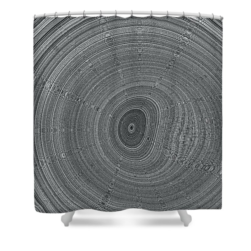 Ripple Shower Curtain featuring the digital art Ripple by Pharris Art