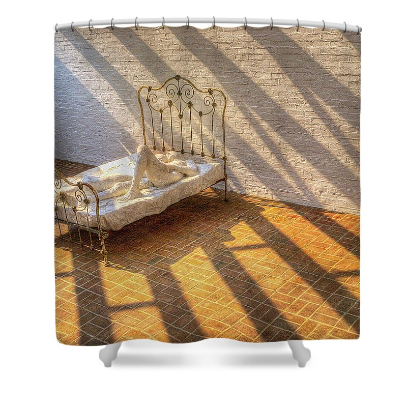 Photography Shower Curtain featuring the photograph Rise And Shine by Paul Wear