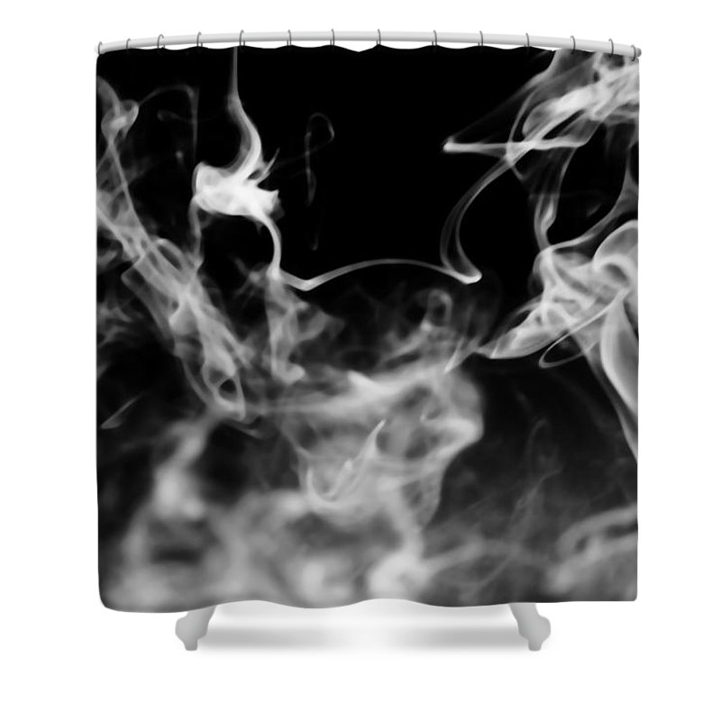 Black Shower Curtain featuring the photograph Rise by Jessica Shelton