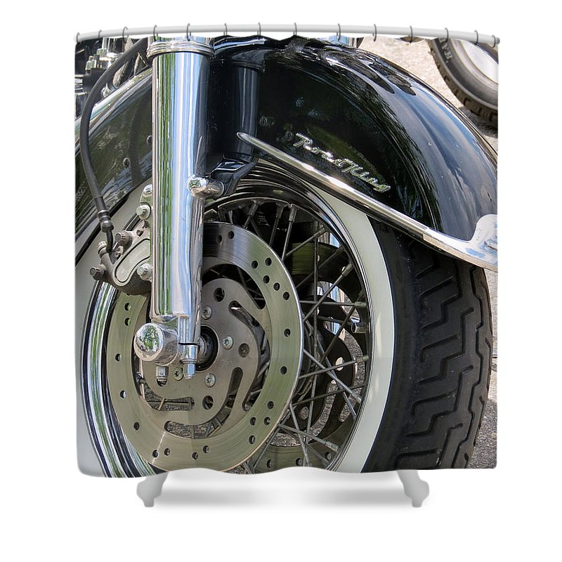 Road King Shower Curtain For Sale By Kay Novy