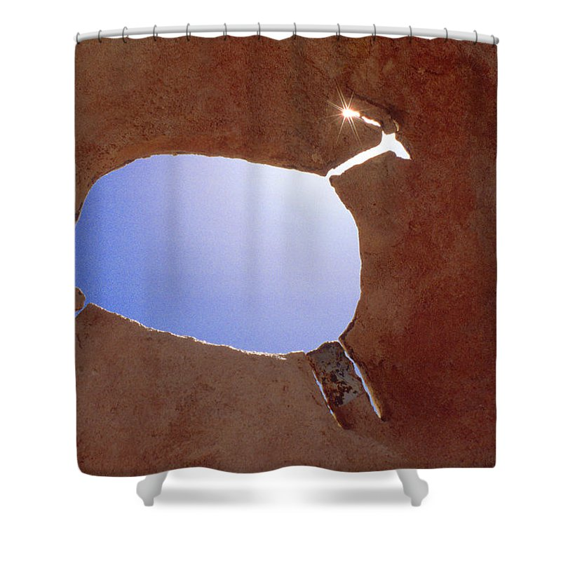 Pictograph Shower Curtain featuring the photograph Rock Art by Jerry McElroy
