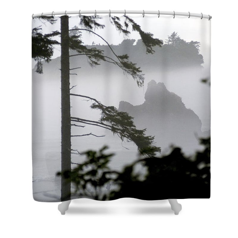 Ruby Beach Shower Curtain featuring the photograph Ruby Beach Washington State by Greg Reed