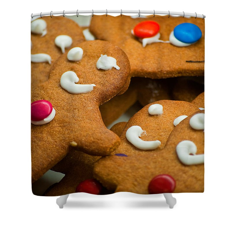 Gingerbread Shower Curtain featuring the photograph Run Run As Fast As You Can by Michelle Wrighton